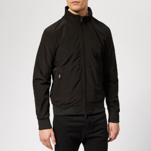 Emporio Armani Men's Zipped Blouson - Nero