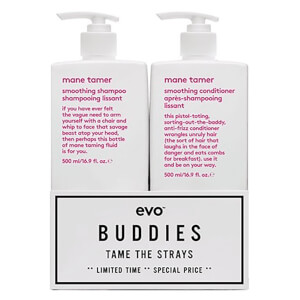 Evo Buddies 'Tame the Strays' Shampoo and Conditioner Duo