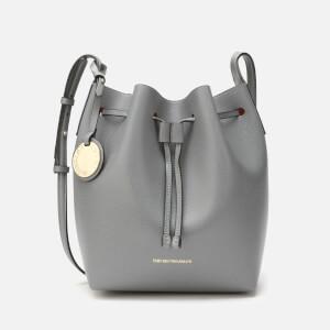 Emporio Armani Women's Bucket Bag - Pietra/Curcuma