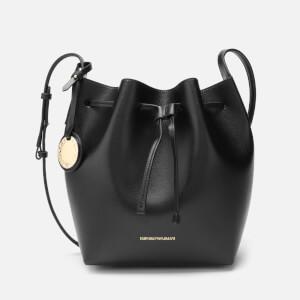 Emporio Armani Women's Bucket Bag - Nero/Rosso