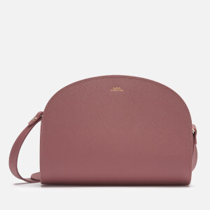 A.P.C. Women's Demi Lune Bag - Rose