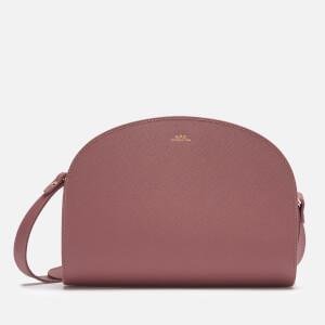 A.P.C. Women's Demi Lune Bag - Rose