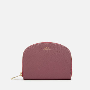 A.P.C. Women's Demi Lune Purse - Rose