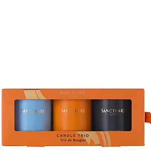 Sanctuary Spa Trio Mini Scented Candles