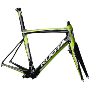 Kuota Kougar Road Frameset - White/Green