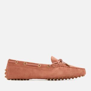 Tod's Women's Heaven Lace Up Driving Shoes - Damasco