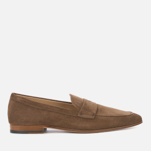Tod's Men's Leather Moccasin Shoes - Noce Chiaro