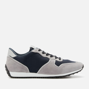 Tod's Men's Casual Low Top Trainers - Grey/Navy