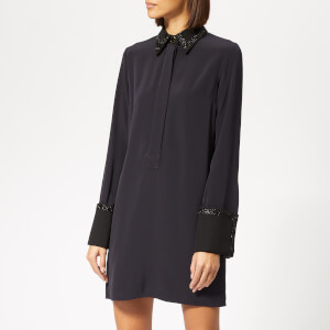 Victoria, Victoria Beckham Women's Fluid Shirt Dress - Midnight