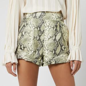 Philosophy di Lorenzo Serafini Women's Snake Print Shorts - Beige