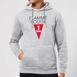 Summit Finish Flamme Rouge Hoodie - Grey