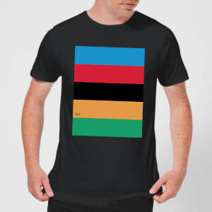 Summit Finish World Champion Stripes Men's T-Shirt - Black