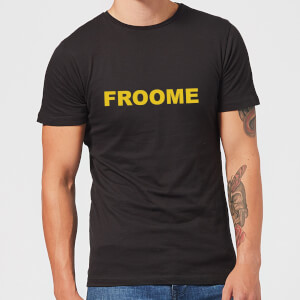 Summit Finish Froome - Rider Name Men's T-Shirt - Black
