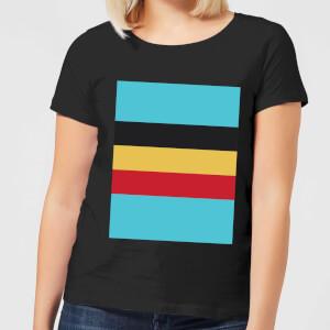 Summit Finish Belgium Flag Women's T-Shirt - Black