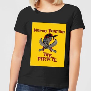 Summit Finish Pantani The Pirate Women's T-Shirt - Black