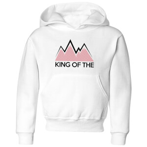 Summit Finish King Of The Mountains Kids' Hoodie - White
