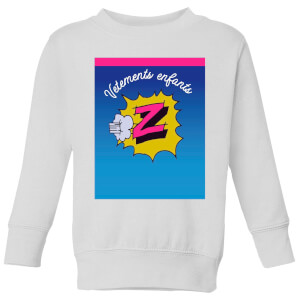 Summit Finish Z Vetements Kids' Sweatshirt - White