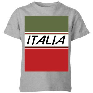 Summit Finish Italia Kids' T-Shirt - Grey