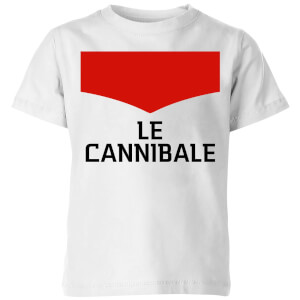 Summit Finish Le Cannibale Kids' T-Shirt - White