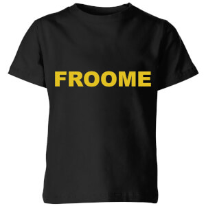 Summit Finish Froome - Rider Name Kids' T-Shirt - Black