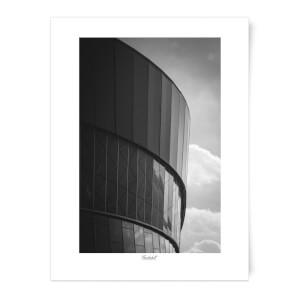 Thunderbolt Photography Liverpool Skyline Art Print