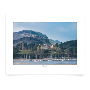 Thunderbolt Photography Conwy River View Art Print
