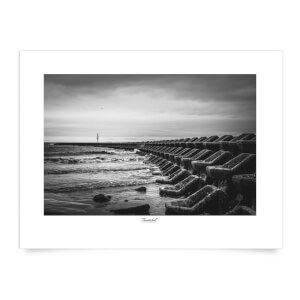 Thunderbolt Photography Seascape, New Brighton Art Print