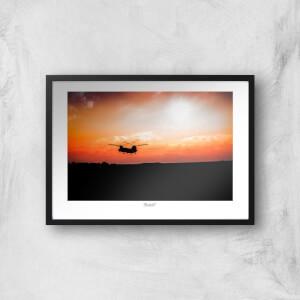 Thunderbolt Photography Farnborough Skyline Art Print