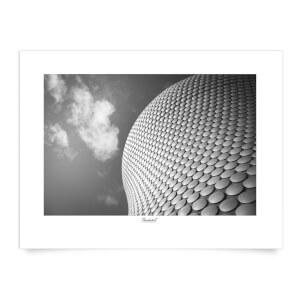 Birmingham Skyline Art Print