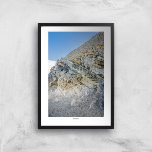 Thunderbolt Photography Llandudno Staircase Art Print