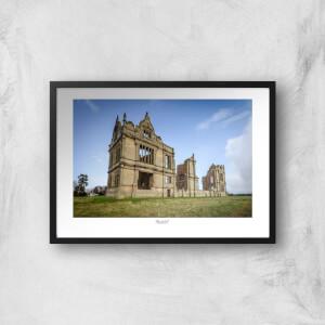 Thunderbolt Photography Moreton Corbet Castle Art Print