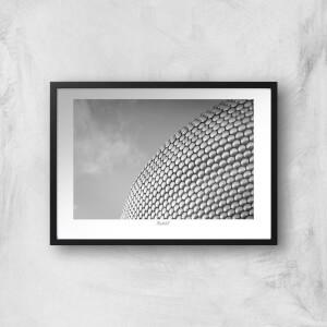 Thunderbolt Photography Birmingham Skyline Art Print
