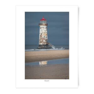 Thunderbolt Photography Talacre Lighthouse Art Print
