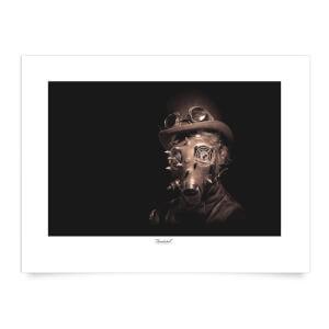 Thunderbolt Photography Steampunk Art Print