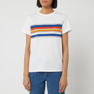 A.P.C. Women's Piano T-Shirt - White