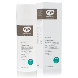 Desmaquillante y limpiador facial sin perfume de Green People 150 ml