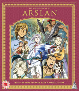 Heroic Legend Of Arslan Season 2 Collection