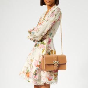 Pinko Women's Love Simply Shoulder Bag - Tan: Image 3