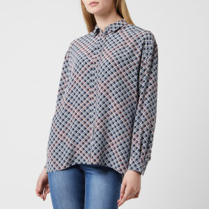 BOSS Women's Ecluni Shirt - Multi