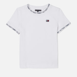 Tommy Hilfiger Boys' Printed Rib T-Shirt - Bright White