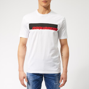 Dsquared2 Men's Stud Fit T-Shirt - White