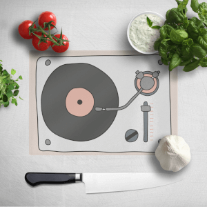 Retro Chopping Board Record Player Chopping Board
