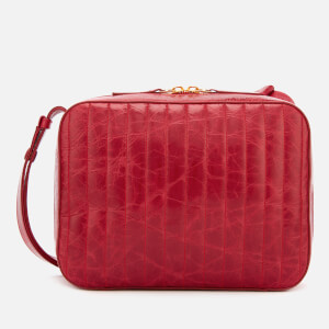 Victoria Beckham Women's Quilted Camera Bag - Red