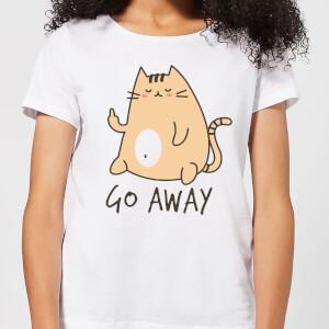 Go Away Women's T-Shirt - White