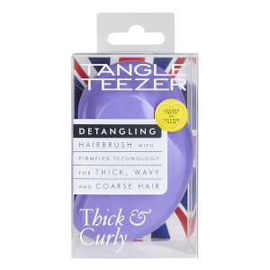 Tangle Teezer Thick and Curly Detangling Hair Brush - Lilac Fondant: Image 9