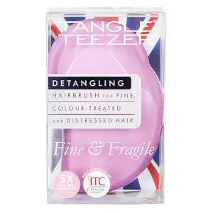 Tangle Teezer Fine and Fragile Detangling Hair Brush - Pink Dawn: Image 10