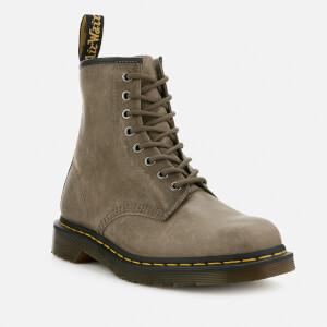 Dr. Martens Men's 1460 Dusky Leather 8-Eye Boots - Olive: Image 2