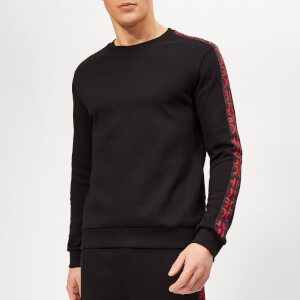HUGO Men's Doby Sweatshirt - Black