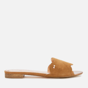 Ted Baker Women's Rhaily Suede Mule Sandals - Caramel