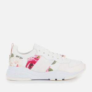 Ted Baker Women's Waverdi Chunky Runner Style Trainers - White